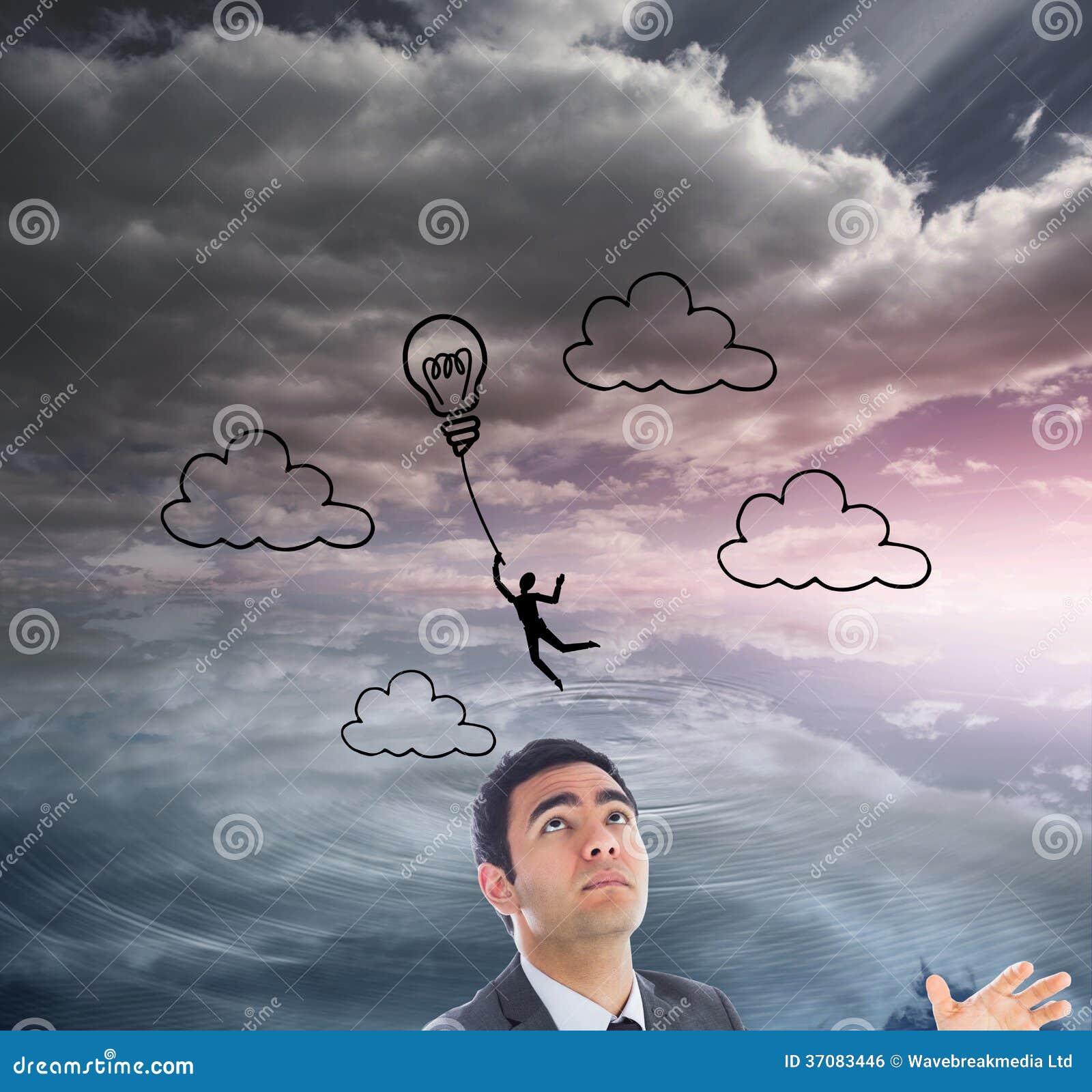 Download Unsmiling Biznesmena łapanie Zdjęcie Stock - Obraz złożonej z światło, natura: 37083446