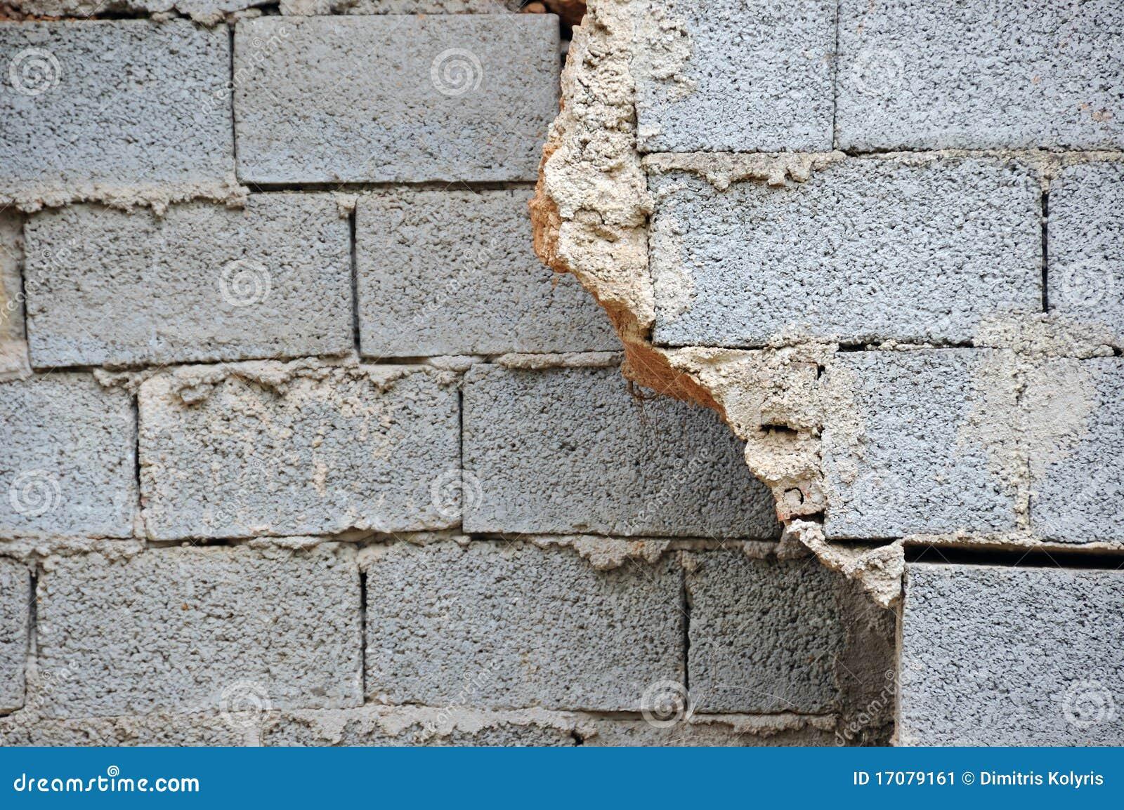 Unterbrochene Wand