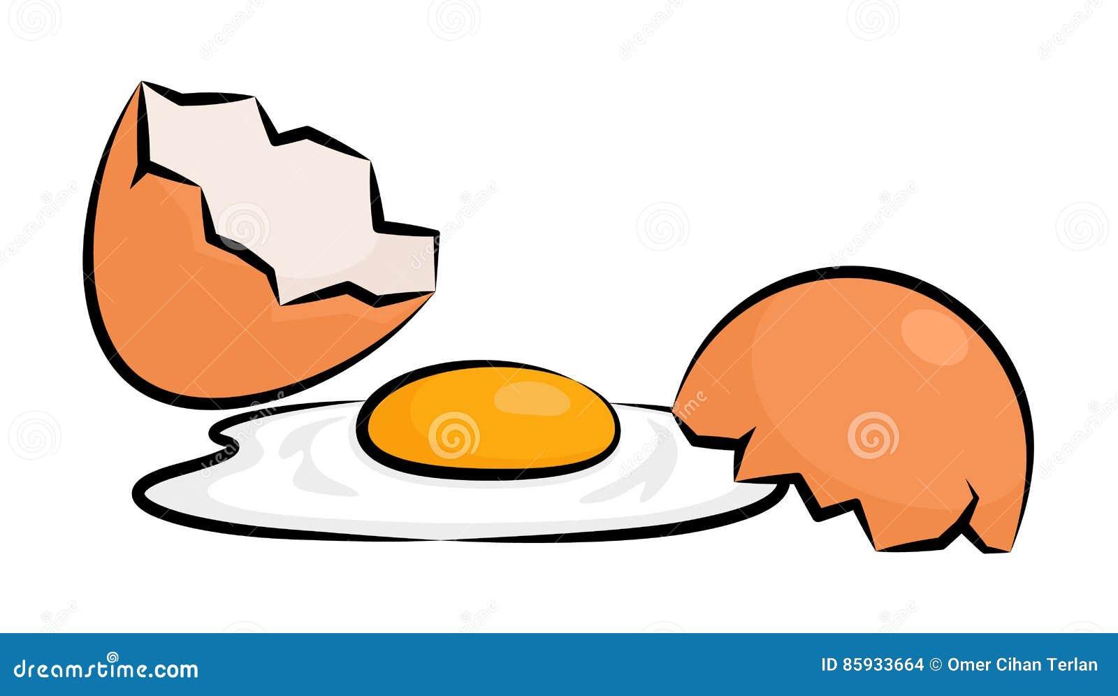Unterbrochenes Ei