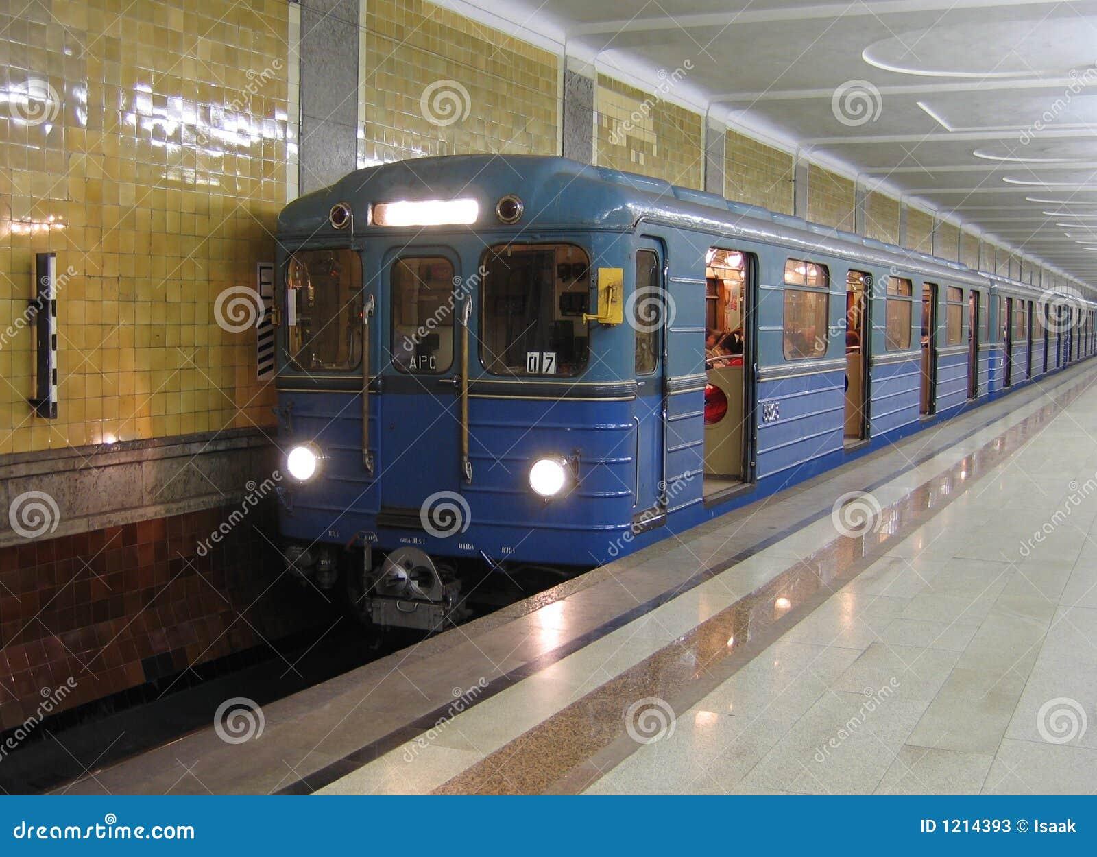 Untergrundbahn in Moskau