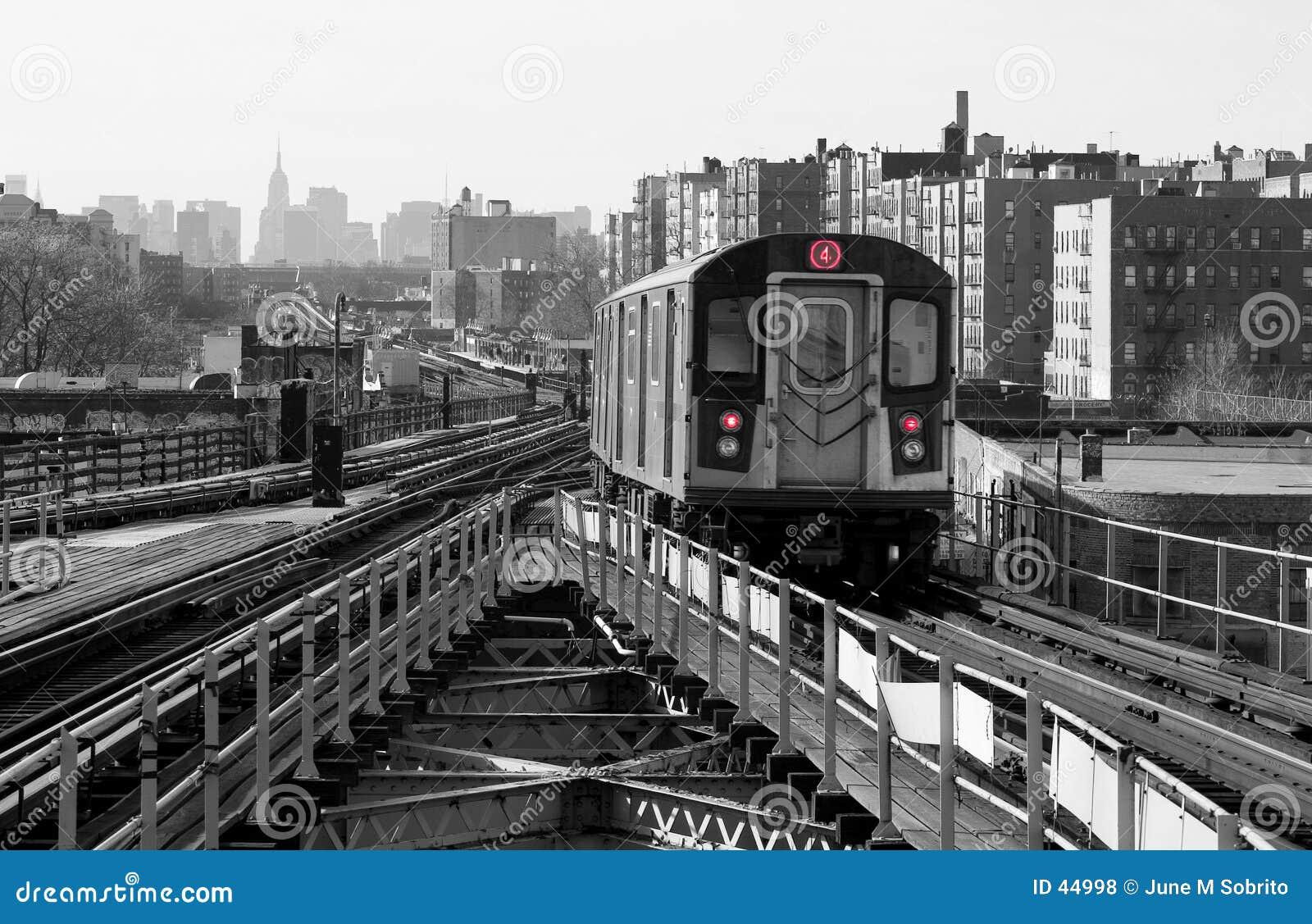 Untergrundbahn-Zeile