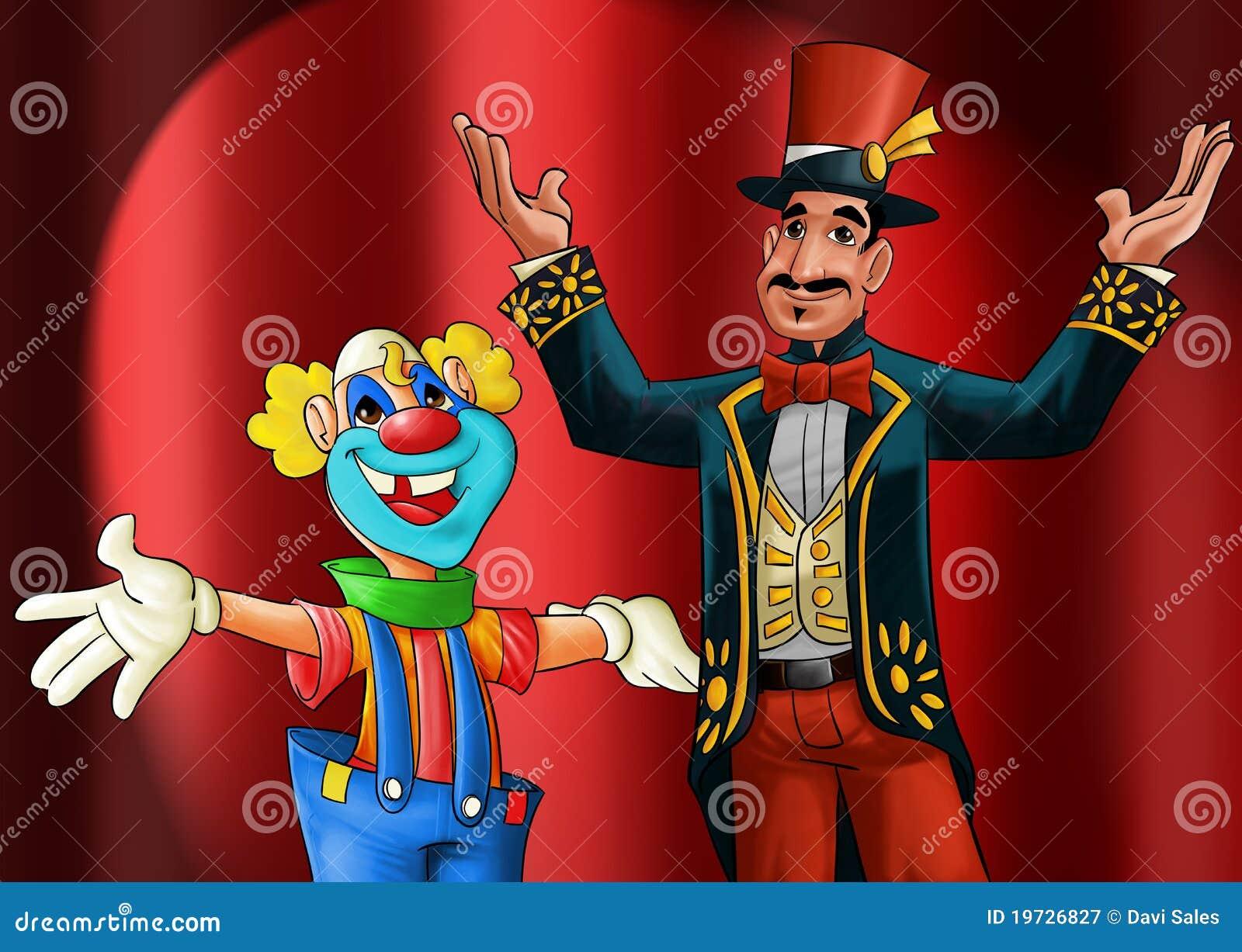 Unterhalter und Clown