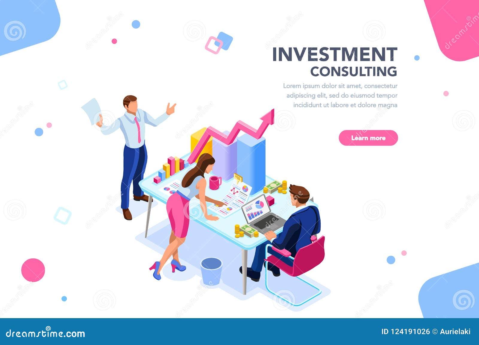 Unternehmensberater Team Management Concept