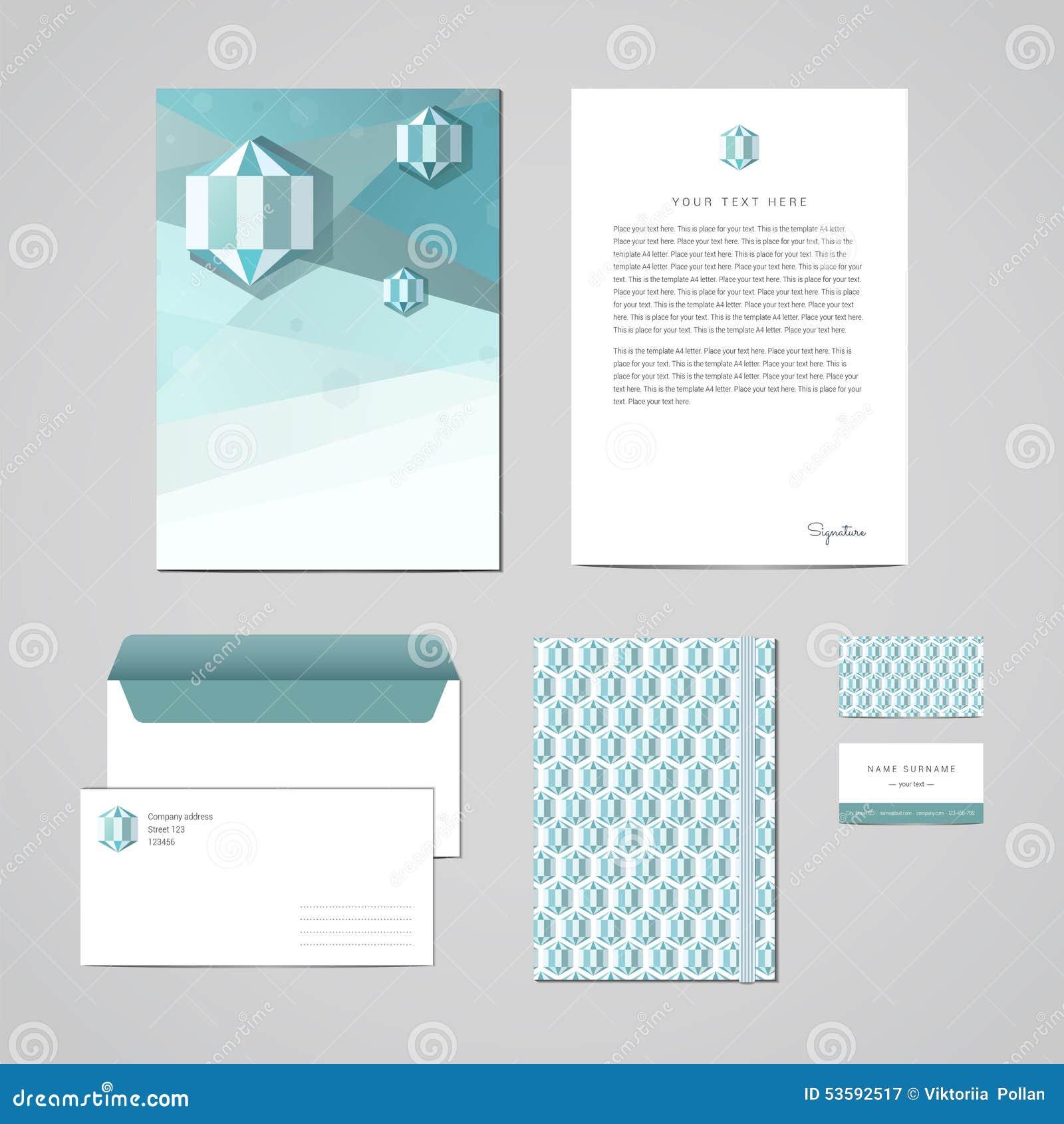 Unternehmensidentitä5sdesignschablone Dokumentation Für Geschäft