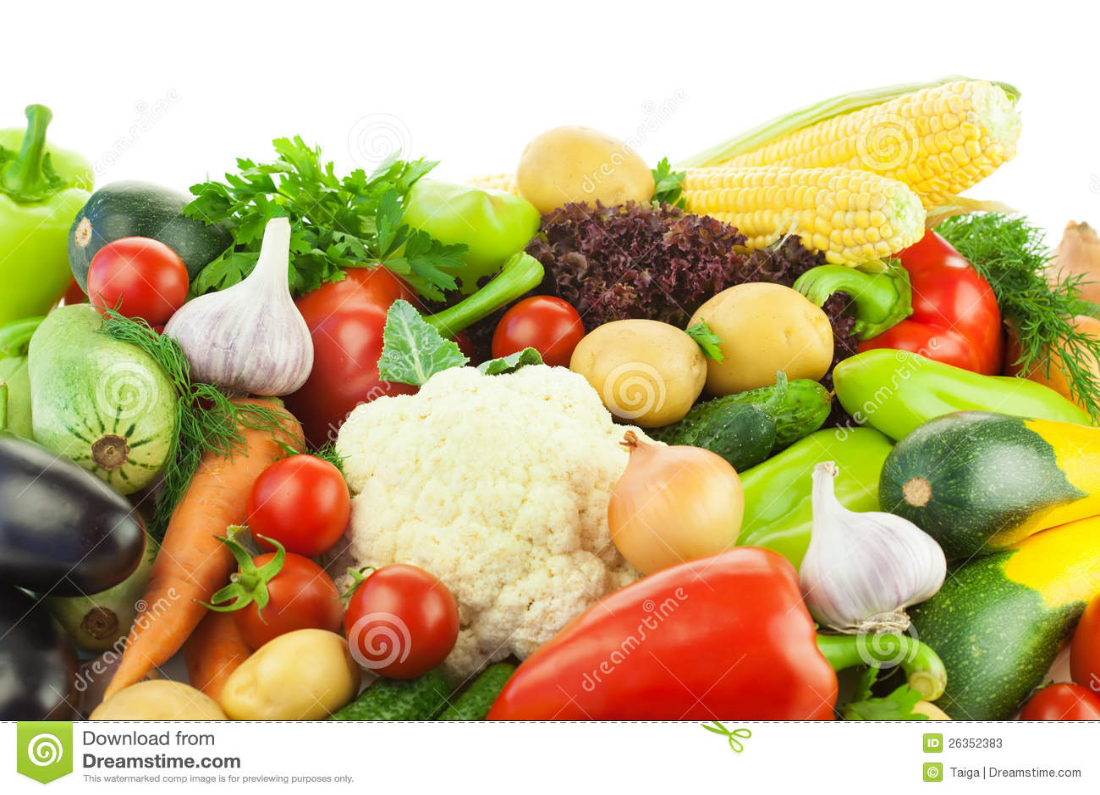 Unterschiedliches Gemüse/große Zusammenstellung der Nahrung