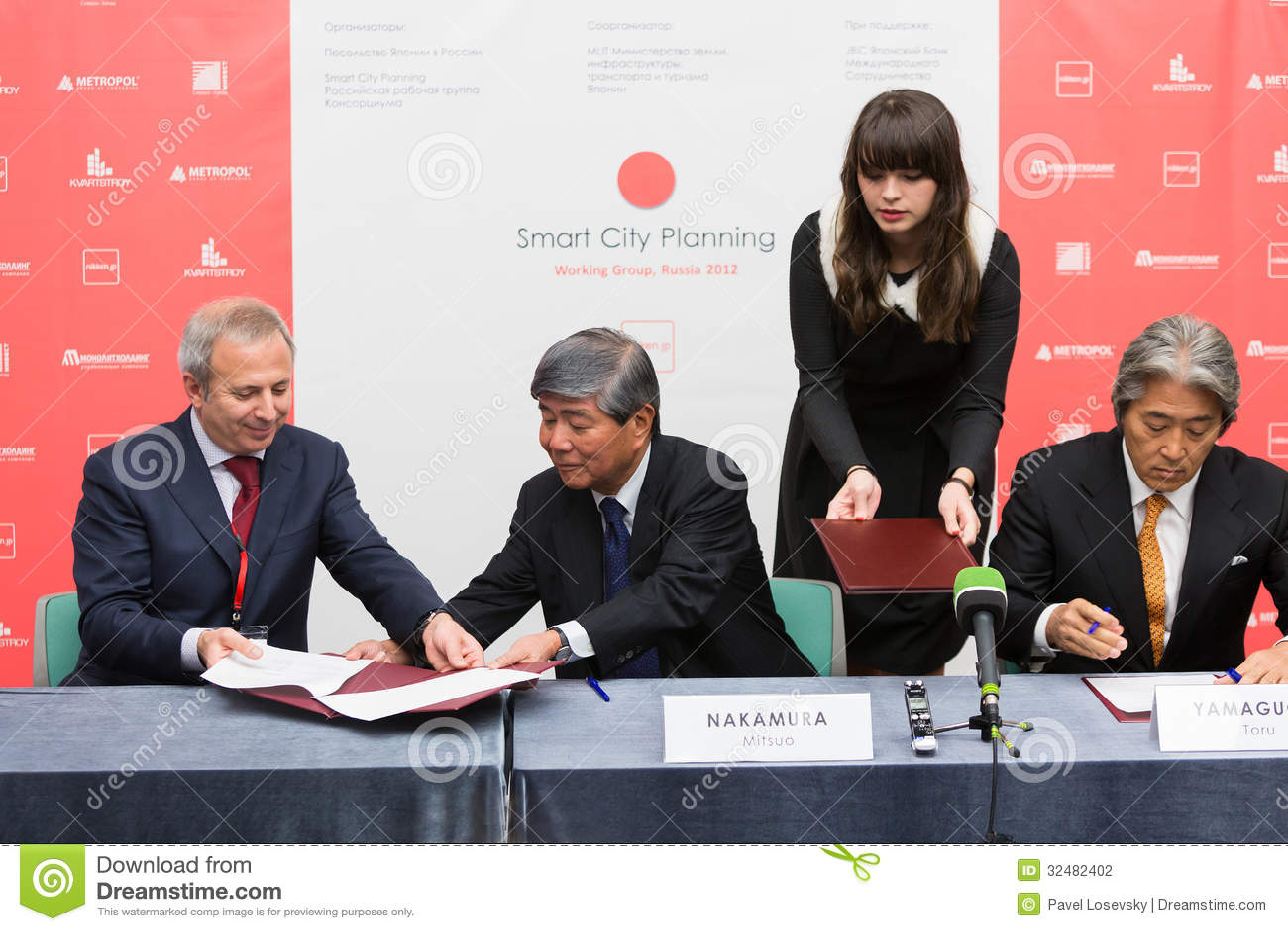 Unterzeichnen der Absichtserklärung SCP mit einigen privaten russischen Immobiliengesellschaften