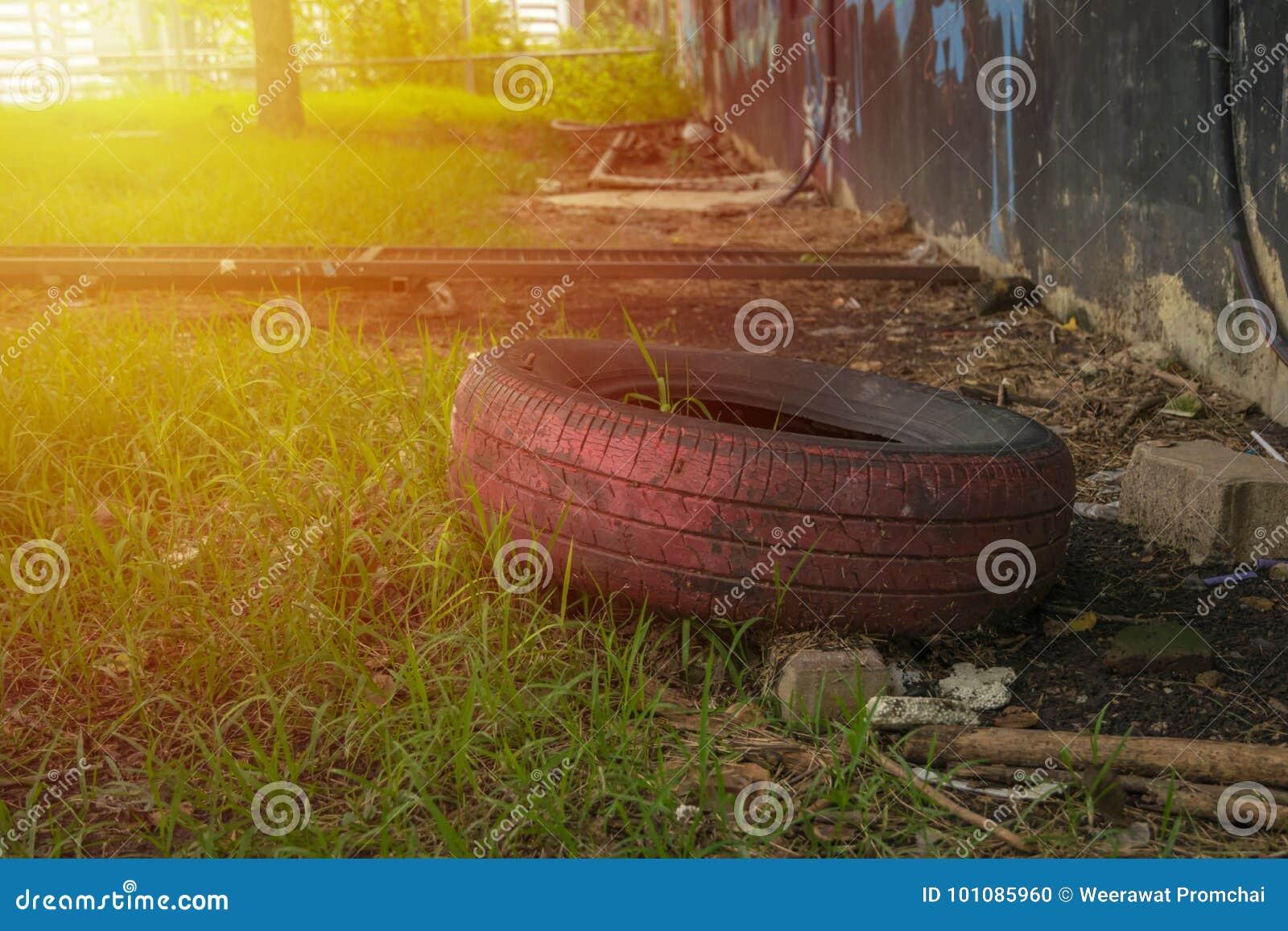 Unusable tire