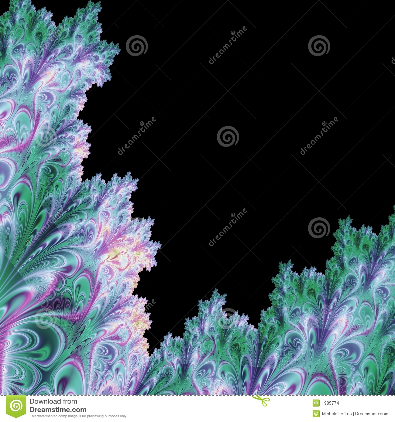 Unusual Abstract Background Template Stock Illustration