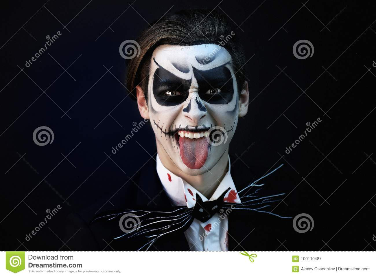 Sceleton stock image  Image of gothic, emotion, death