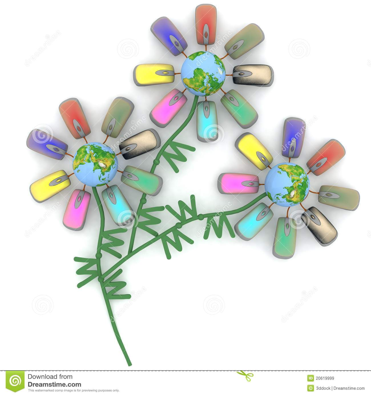 Unusual bouquet royalty free stock images image 20619999 for Bouquet internet