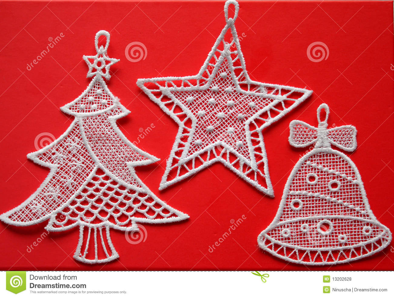 download unusual christmas fabric decorations stock photo image of sweet bell 13202628 - Unusual Christmas Decorations