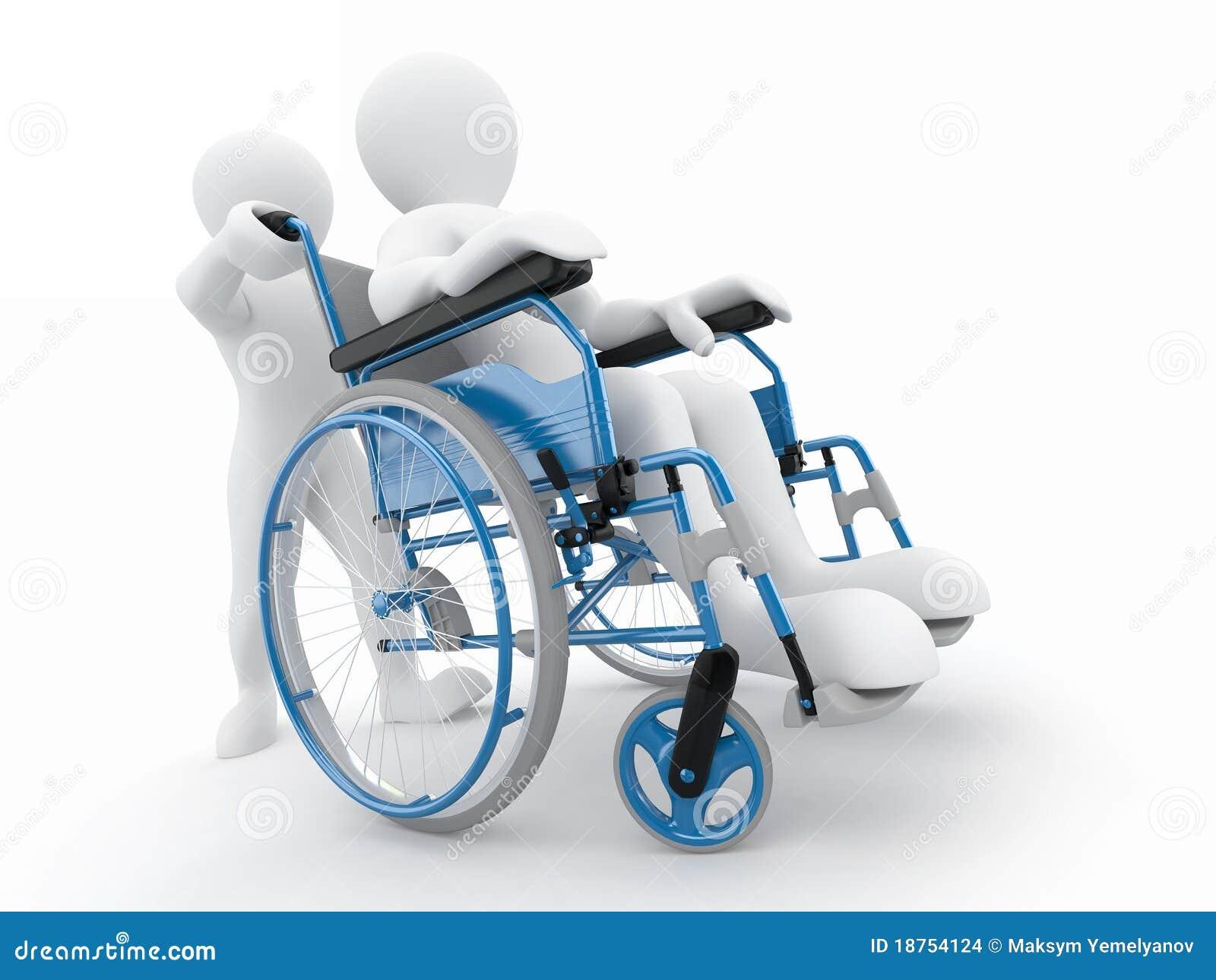Uomini sulla sedia a rotelle illustrazione di stock for Fisico sedia a rotelle