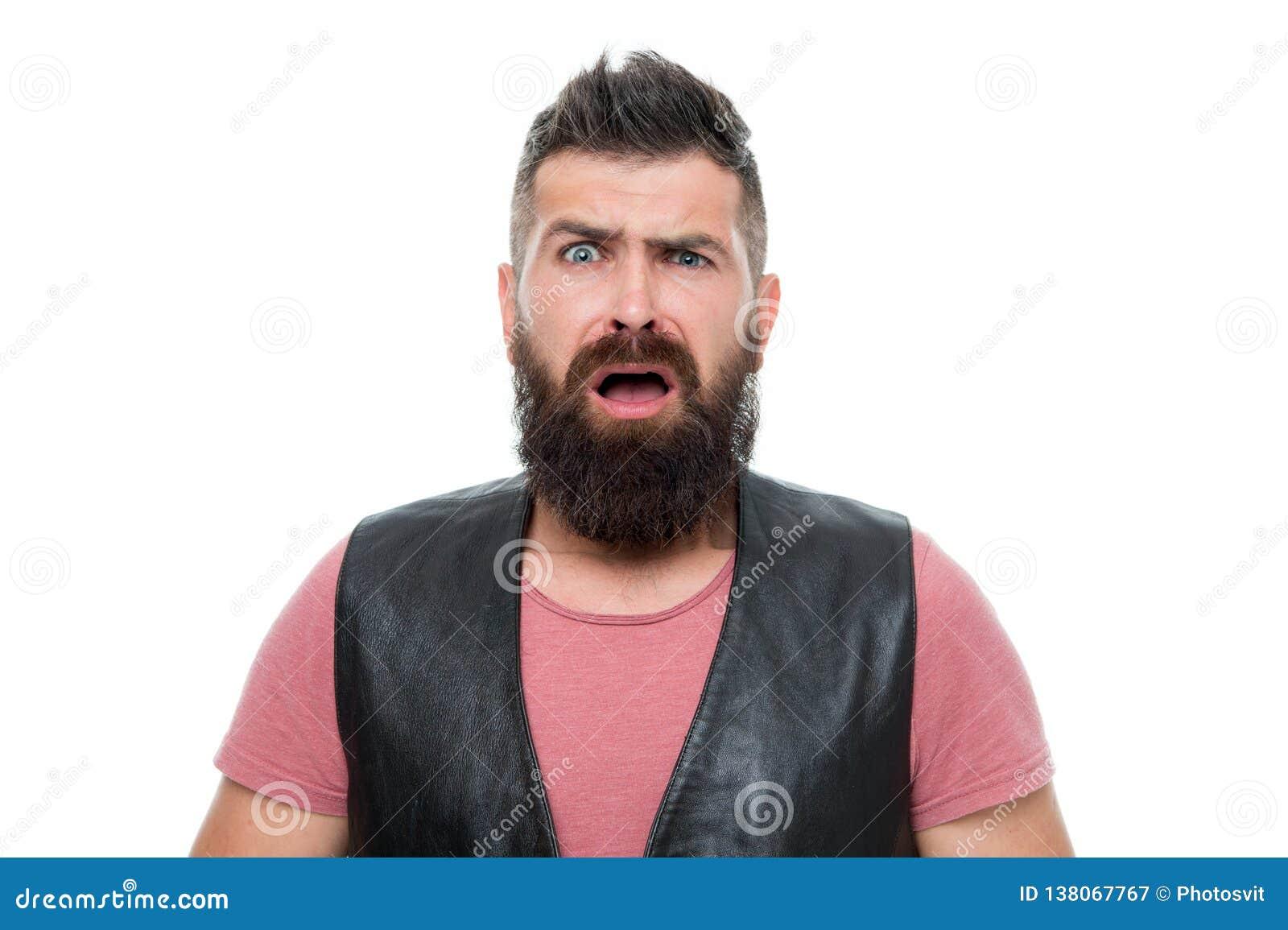 Uomo Barbuto Cura Della Barba E Dei Capelli Cura Maschio ...