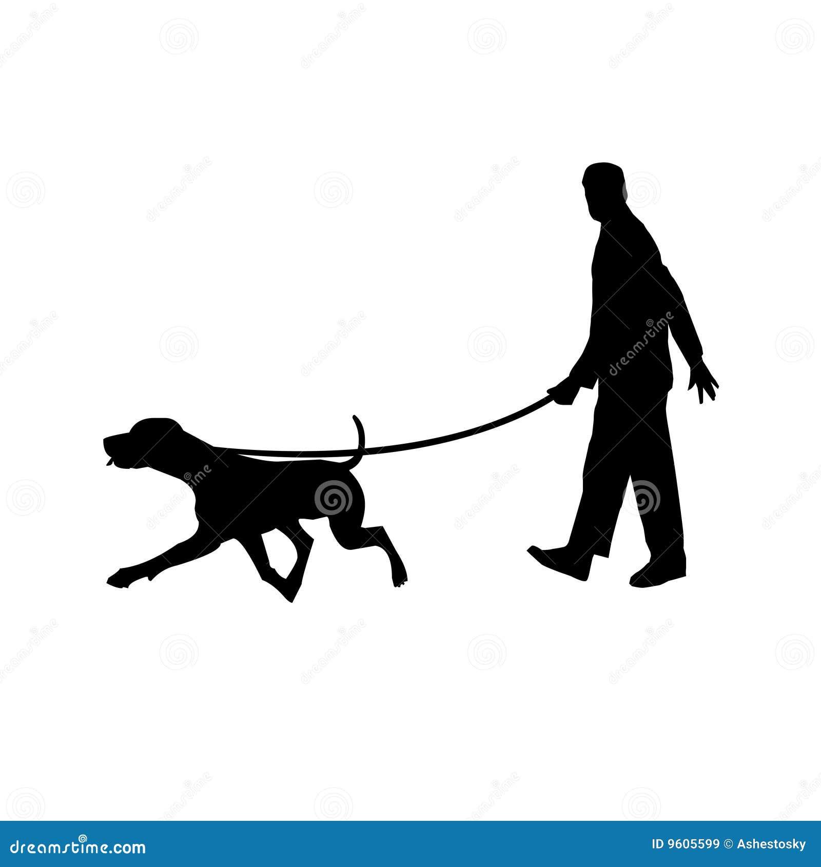 Passeggiata con cane