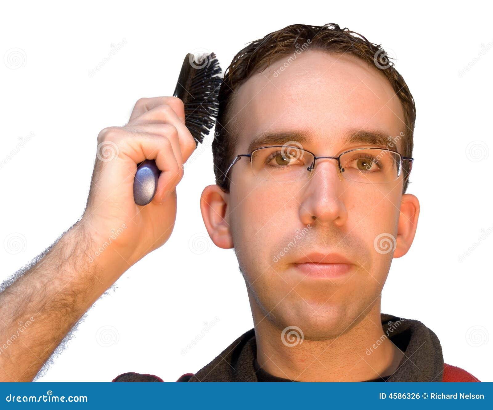 capelli uomo spazzola
