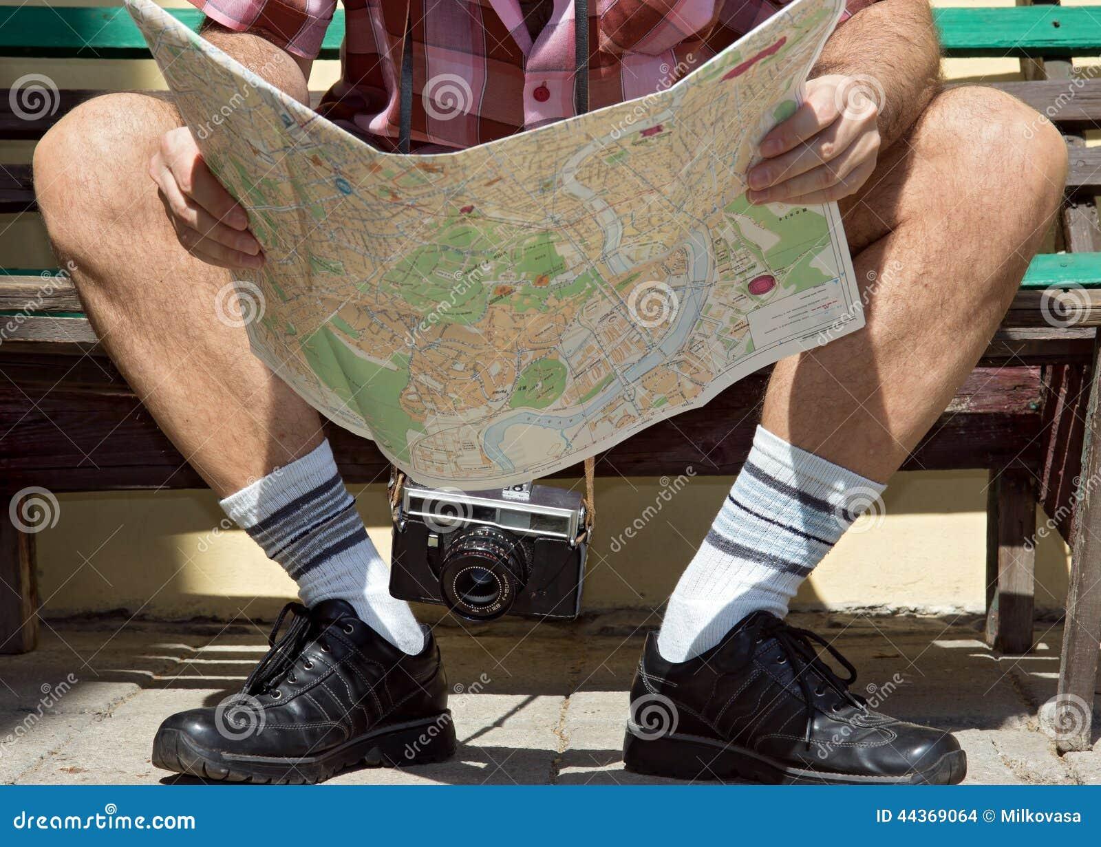 Uomo con la mappa