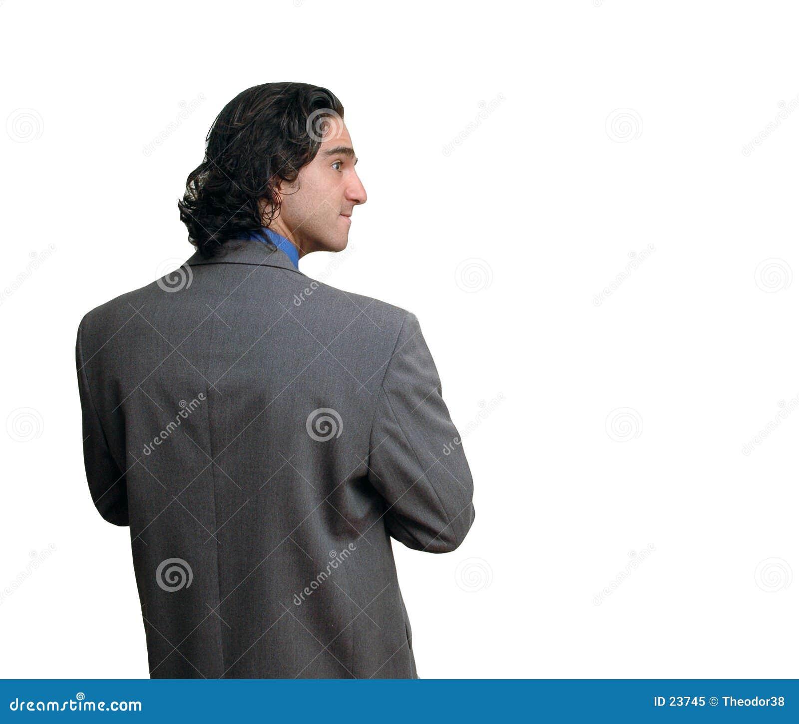 Uomo d affari isolated-8