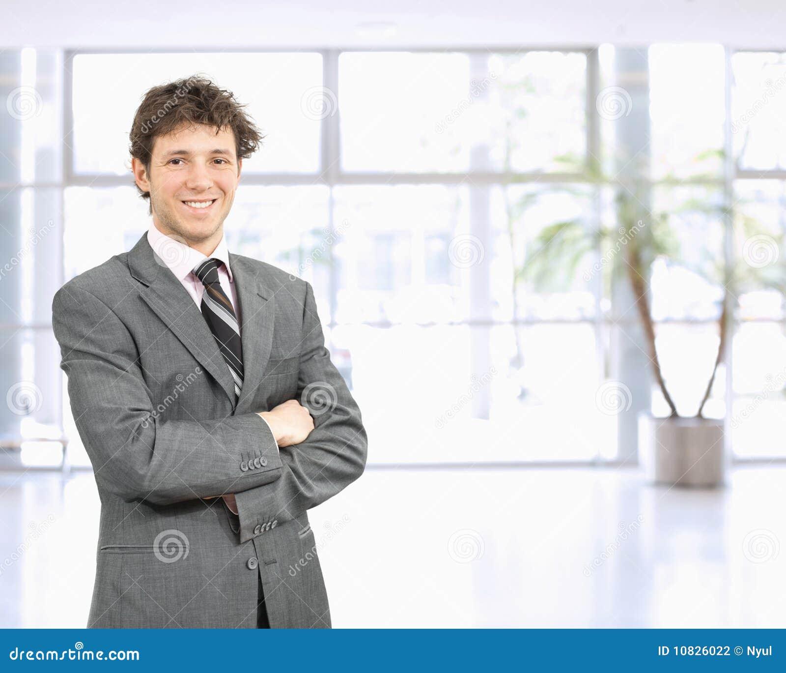 Uomo d affari sicuro