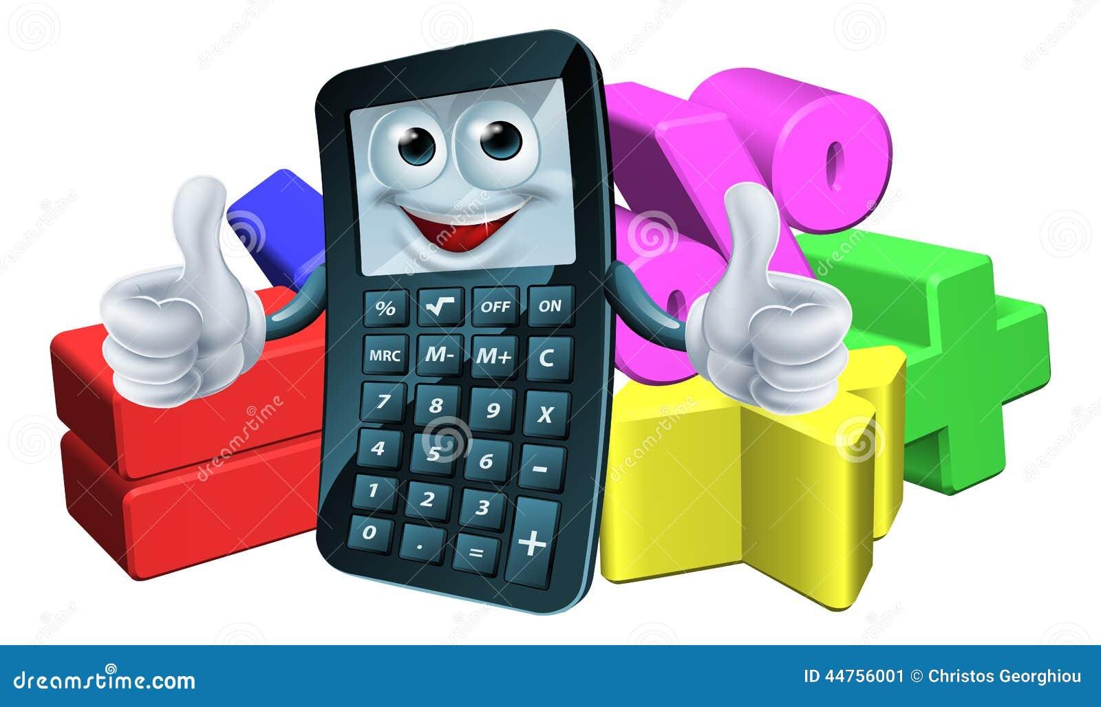 Uomo del calcolatore e simboli di per la matematica