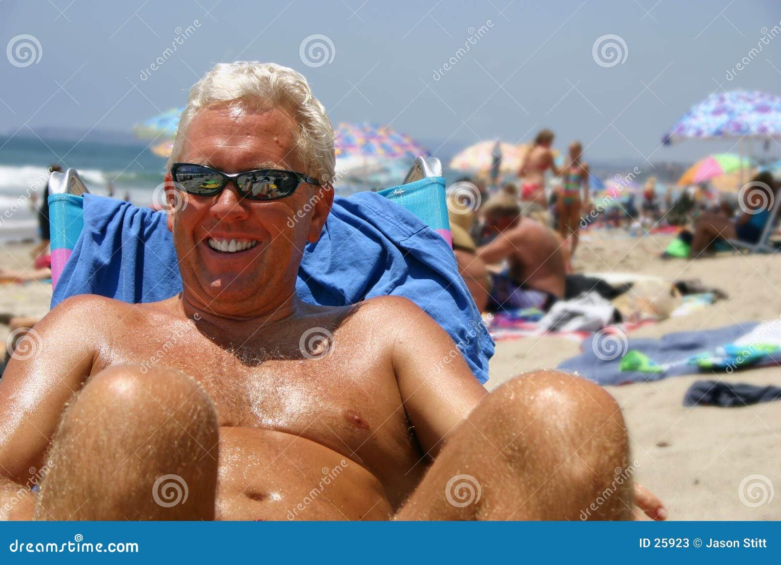 Uomo della spiaggia