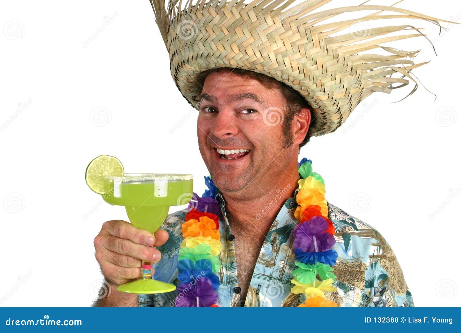 Uomo di Margarita - felice