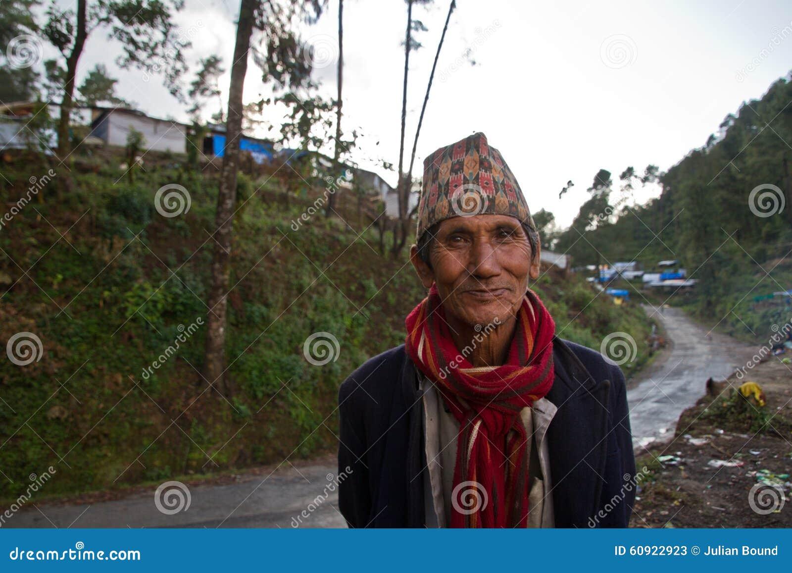 Uomo di Sindhupalchowk, Nepal