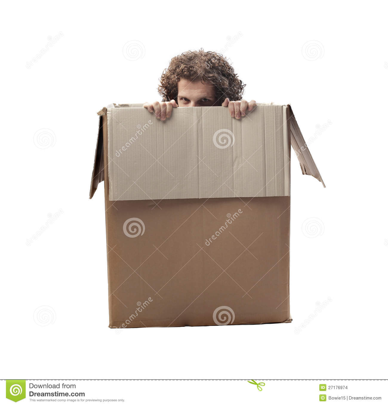 Uomo nascosto immagini stock immagine 27176974 for Mobilia dizionario