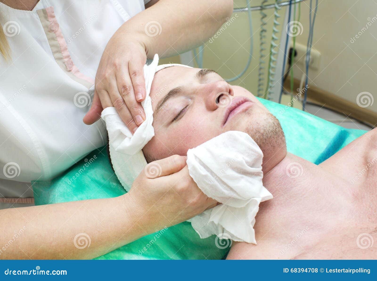 Cosmetology il massager per la persona