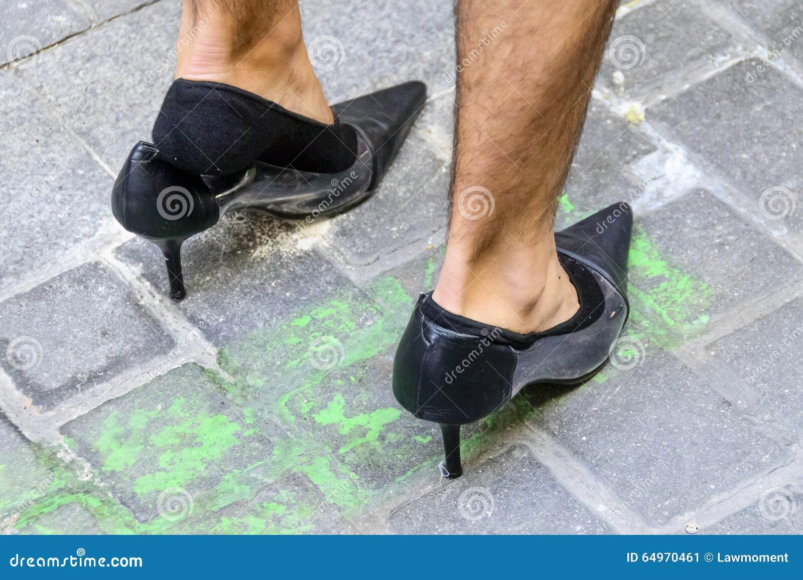 Scarpe Tacchi Alti Uomo