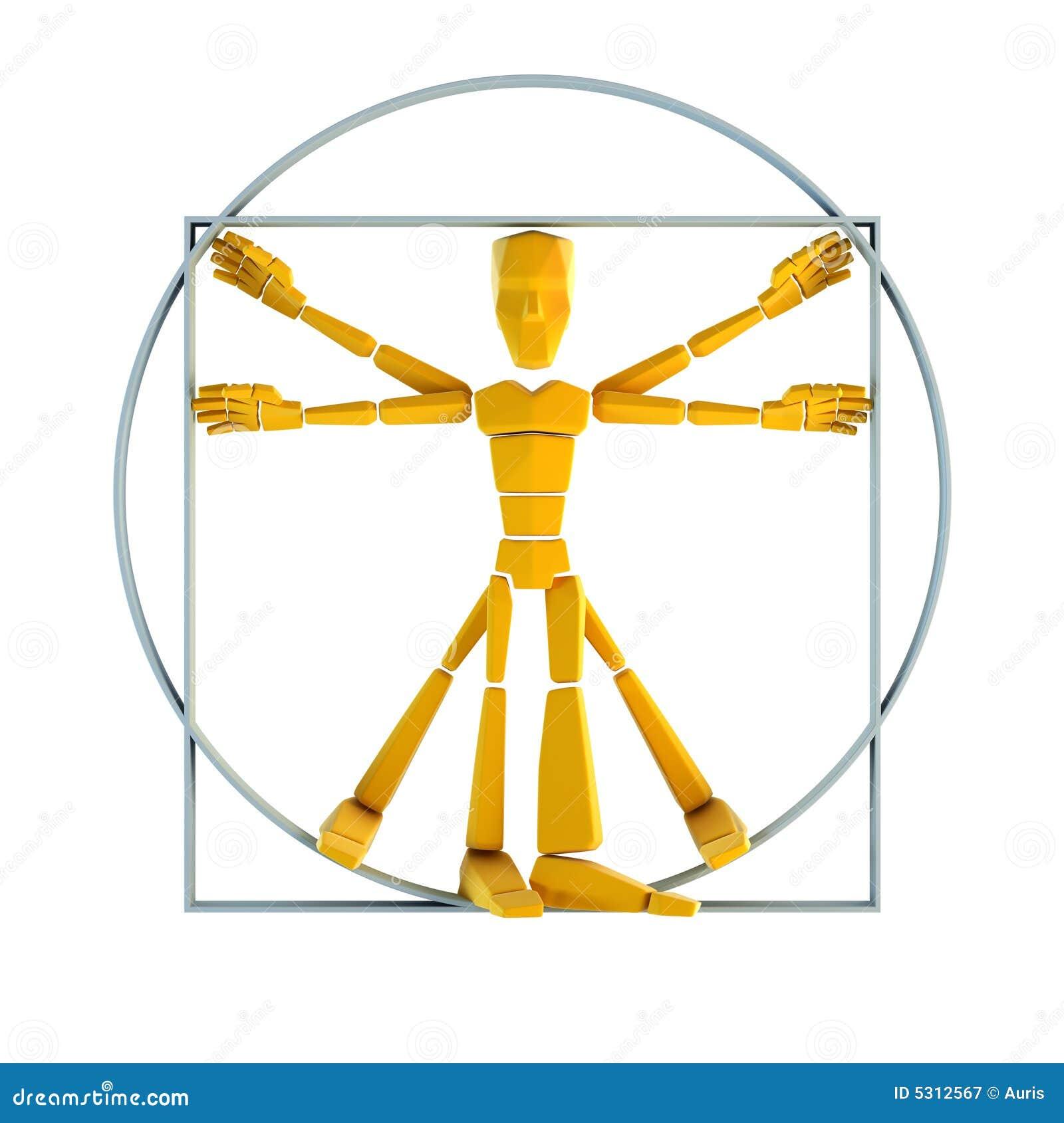 Download Uomo simbolico illustrazione di stock. Illustrazione di fumetto - 5312567