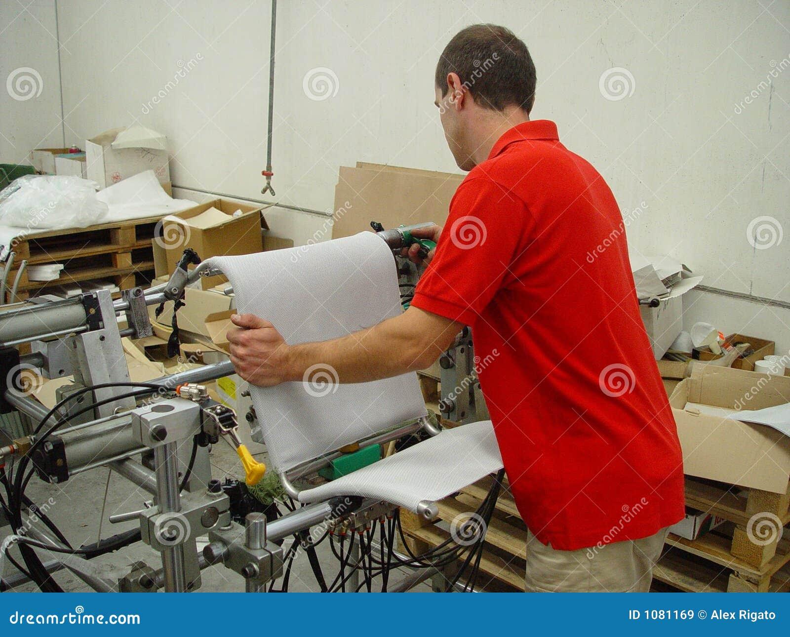 Uomo sul lavoro