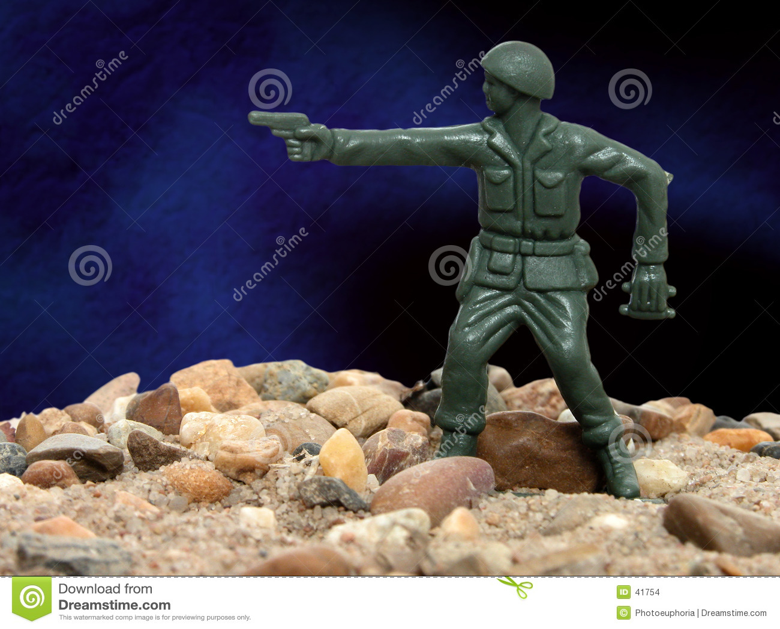 Uomo verde 01 dell esercito del giocattolo