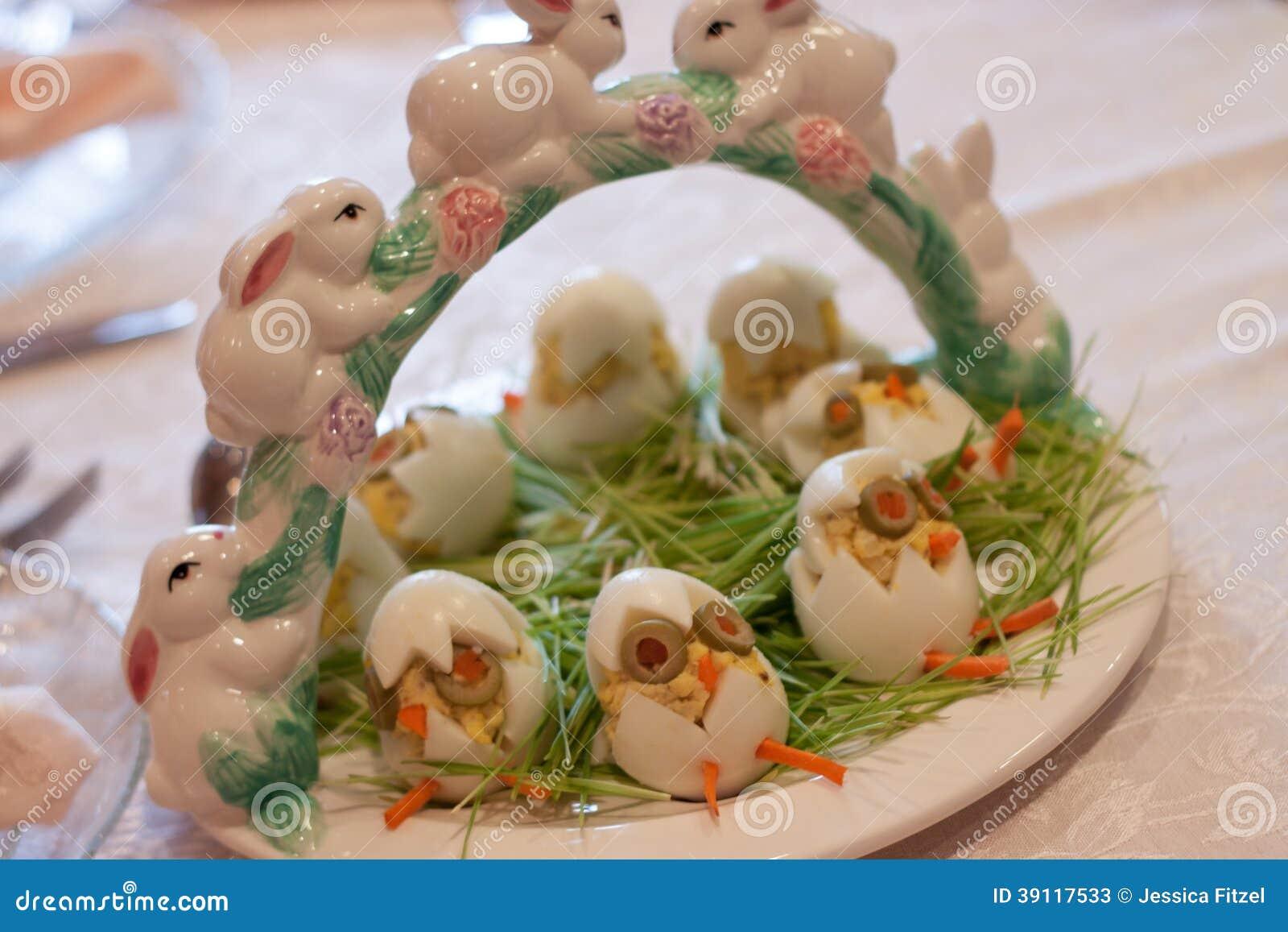 Uova dell aperitivo di Pasqua