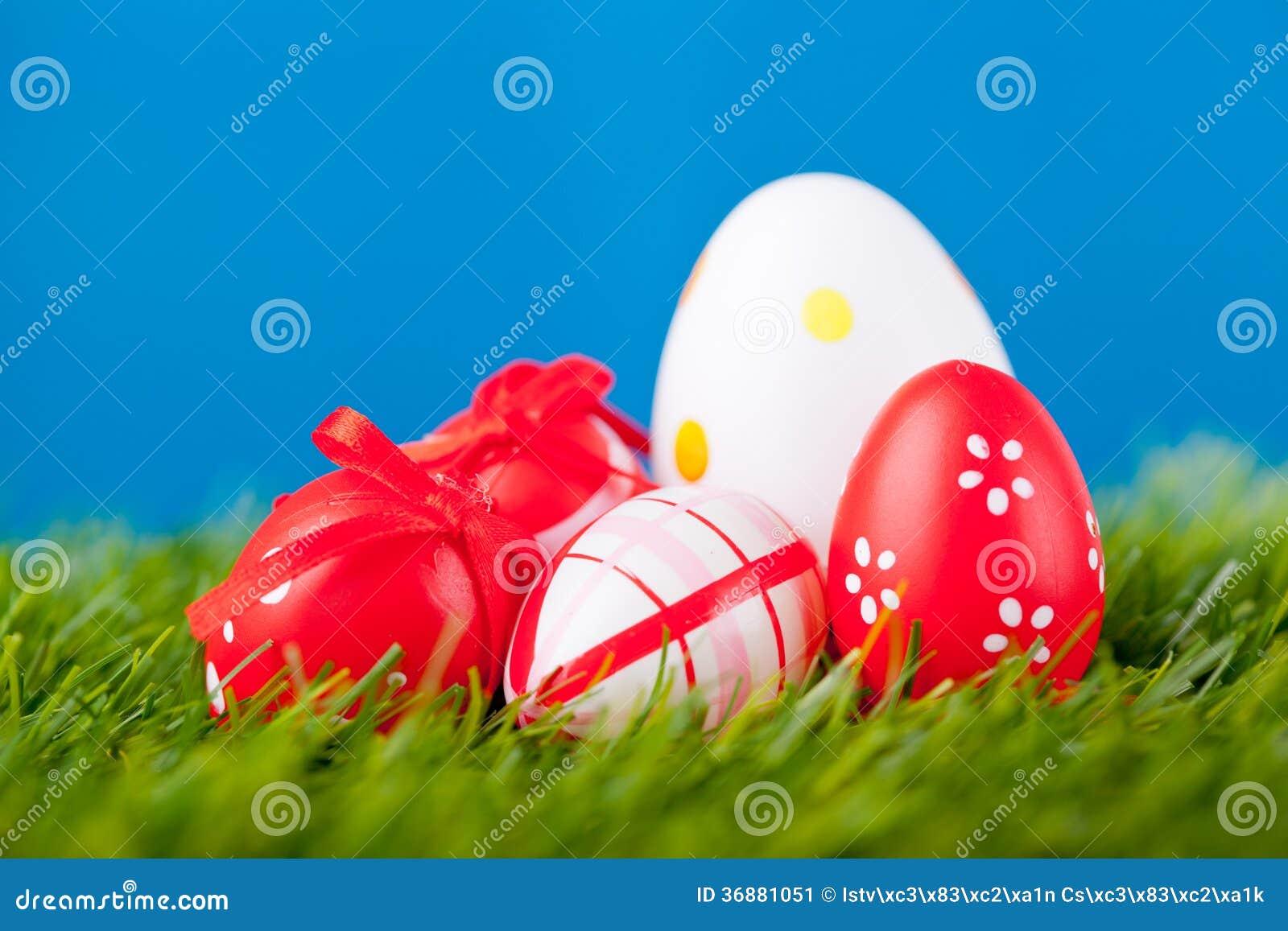 Download Uova di Pasqua immagine stock. Immagine di coniglio, cristiano - 36881051