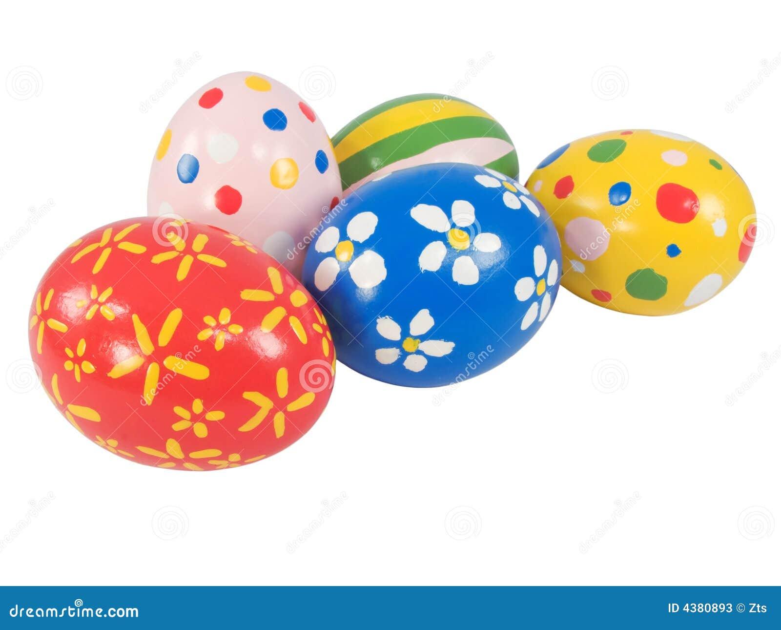 Uova di pasqua dipinte a mano fotografie stock immagine - Uova di pasqua decorati a mano ...