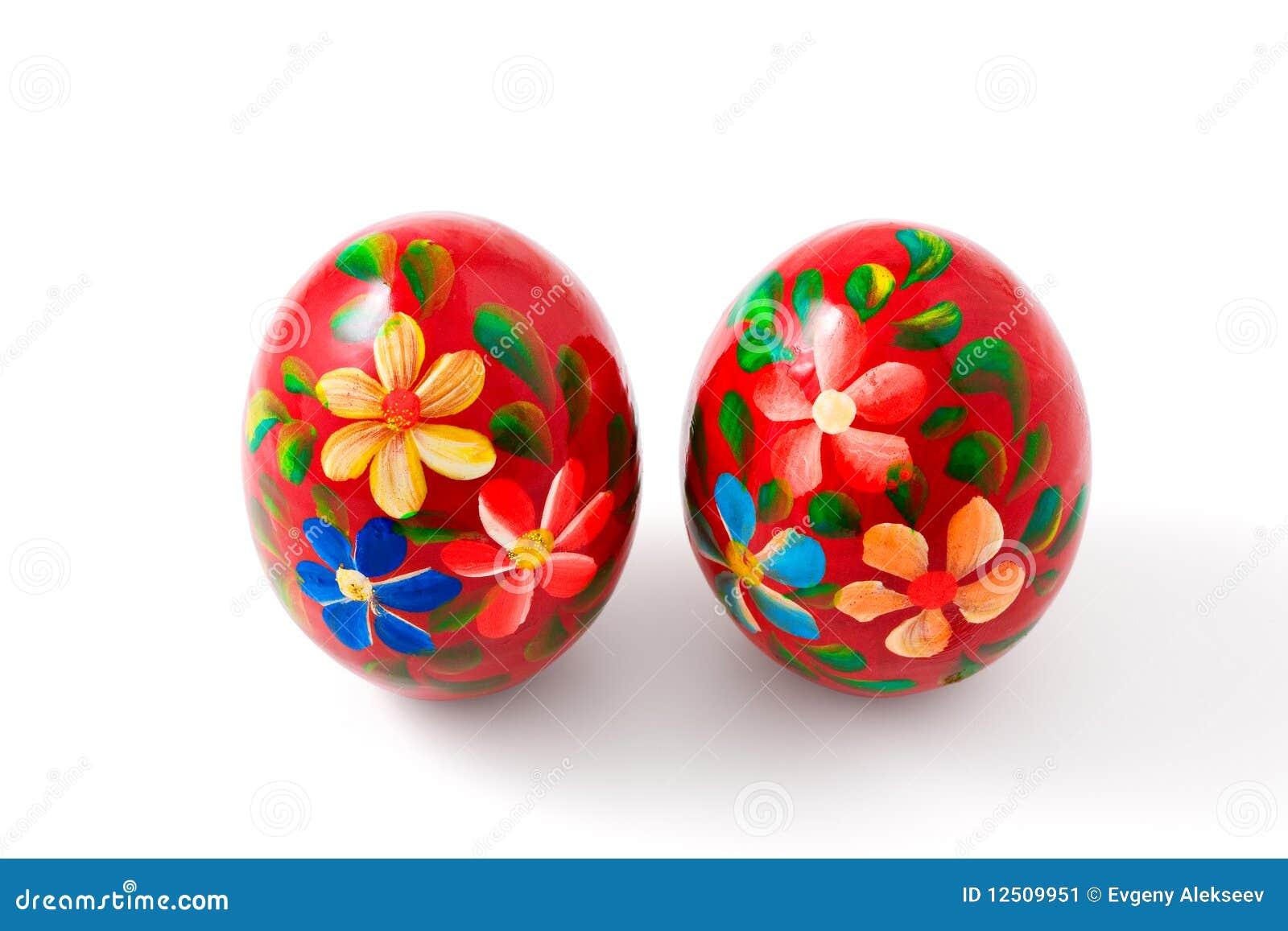 Uova di pasqua dipinte a mano percorso di residuo della - Uova di pasqua decorati a mano ...
