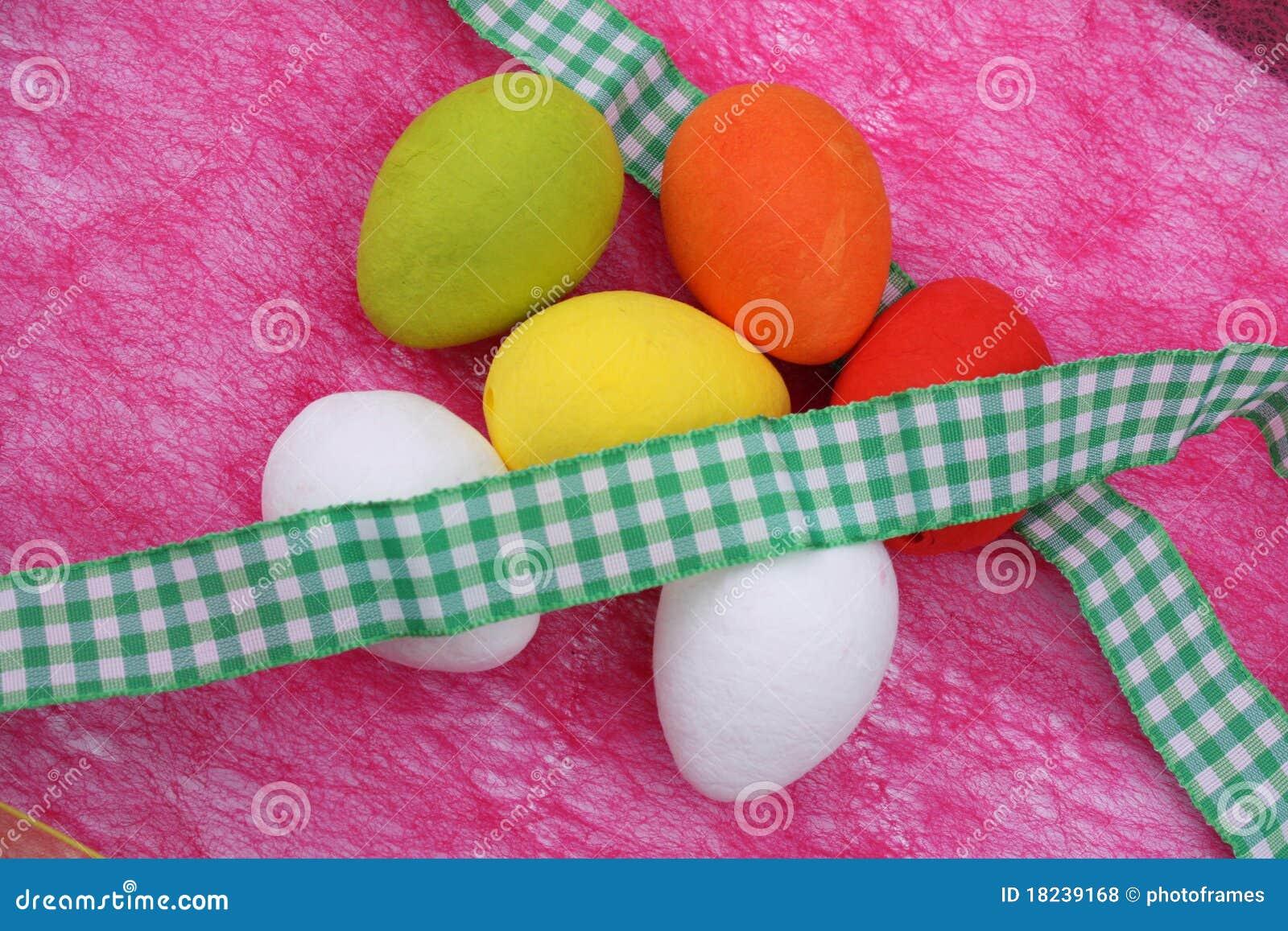 Uova di Pasqua variopinte