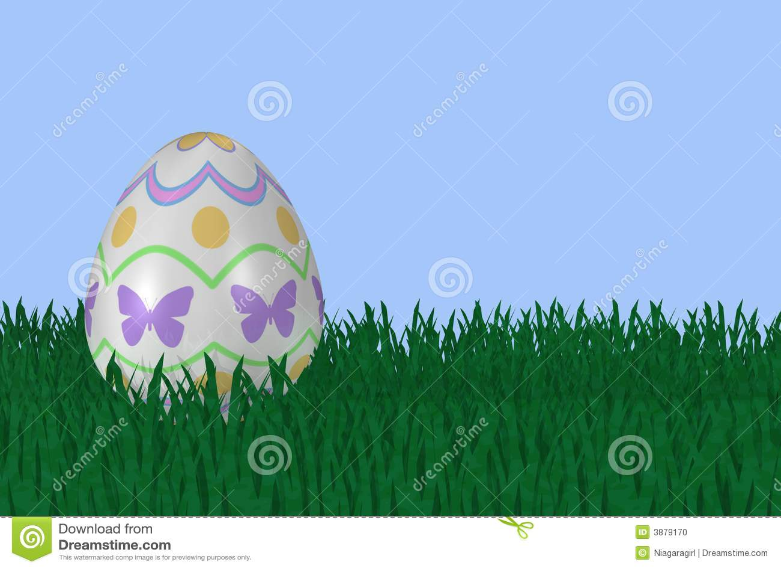 Uovo di Pasqua Operato in erba