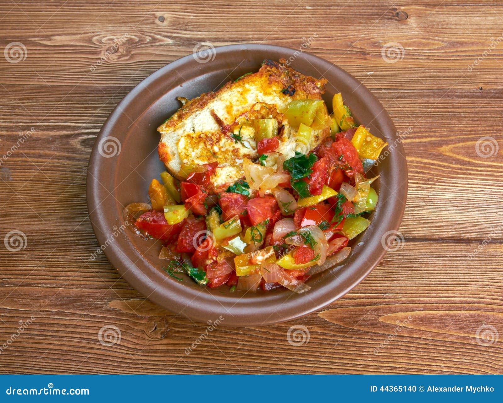 Uovo nel pane tostato