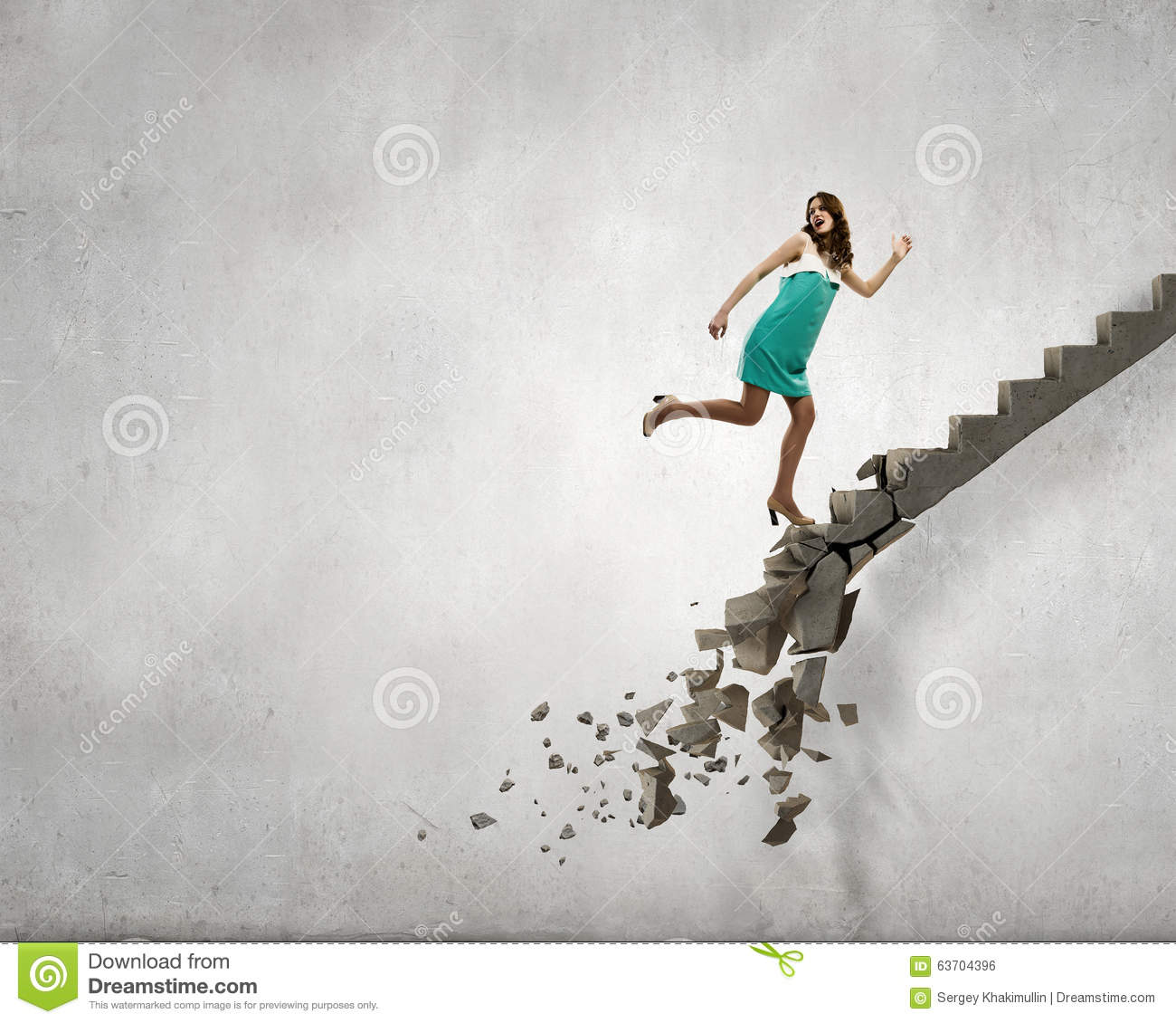 up the ladder overcoming challenges stock photo image  up the ladder overcoming challenges