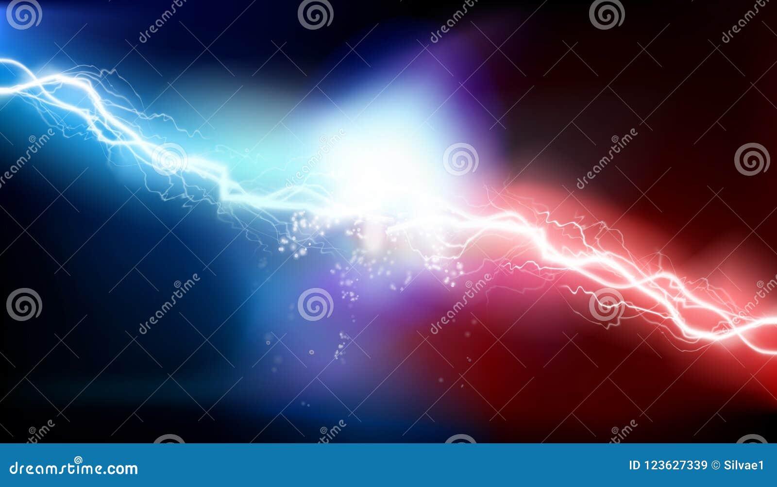 Upału oświetlenie elektryczny absolutorium również zwrócić corel ilustracji wektora