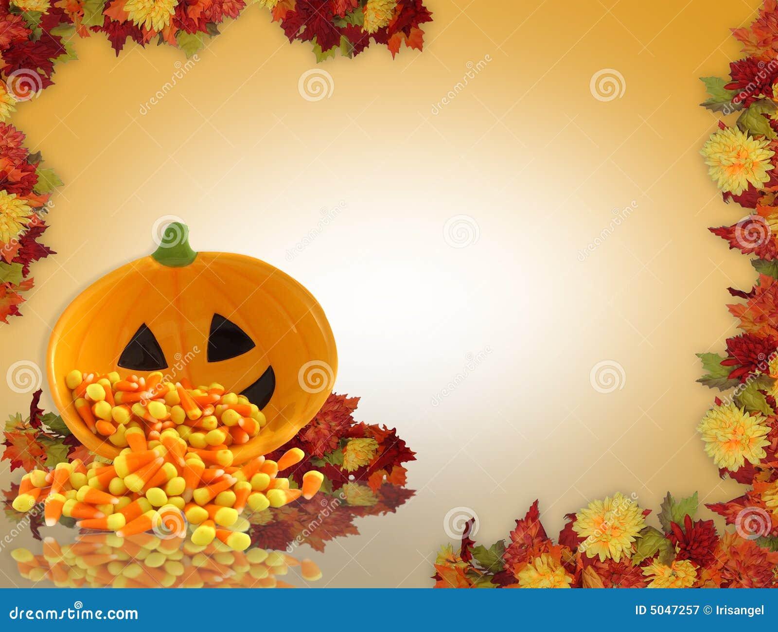 Upadek tła Halloween.