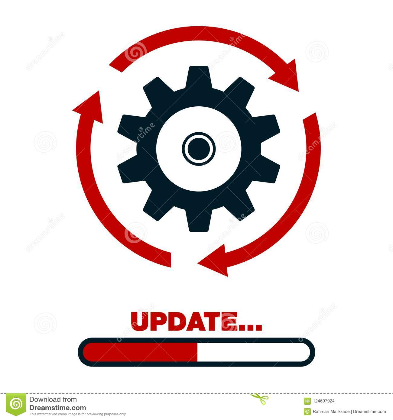 Download Update Software Icon Concept Of Application Progress For Graphic And Web