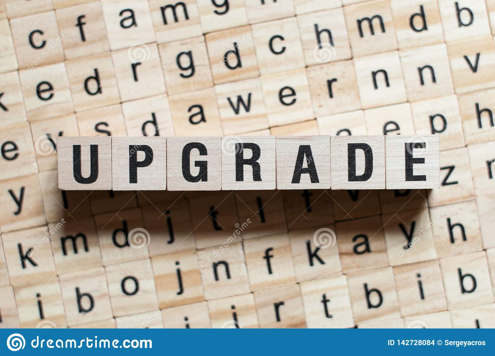 Upgrade word concept