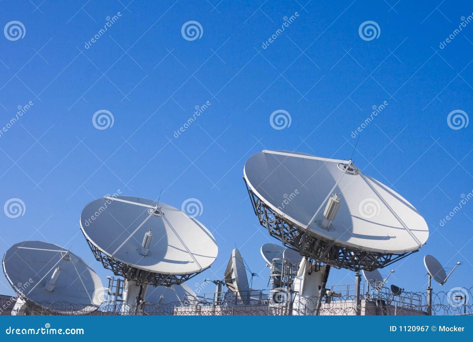 Uplink telecom facility dish
