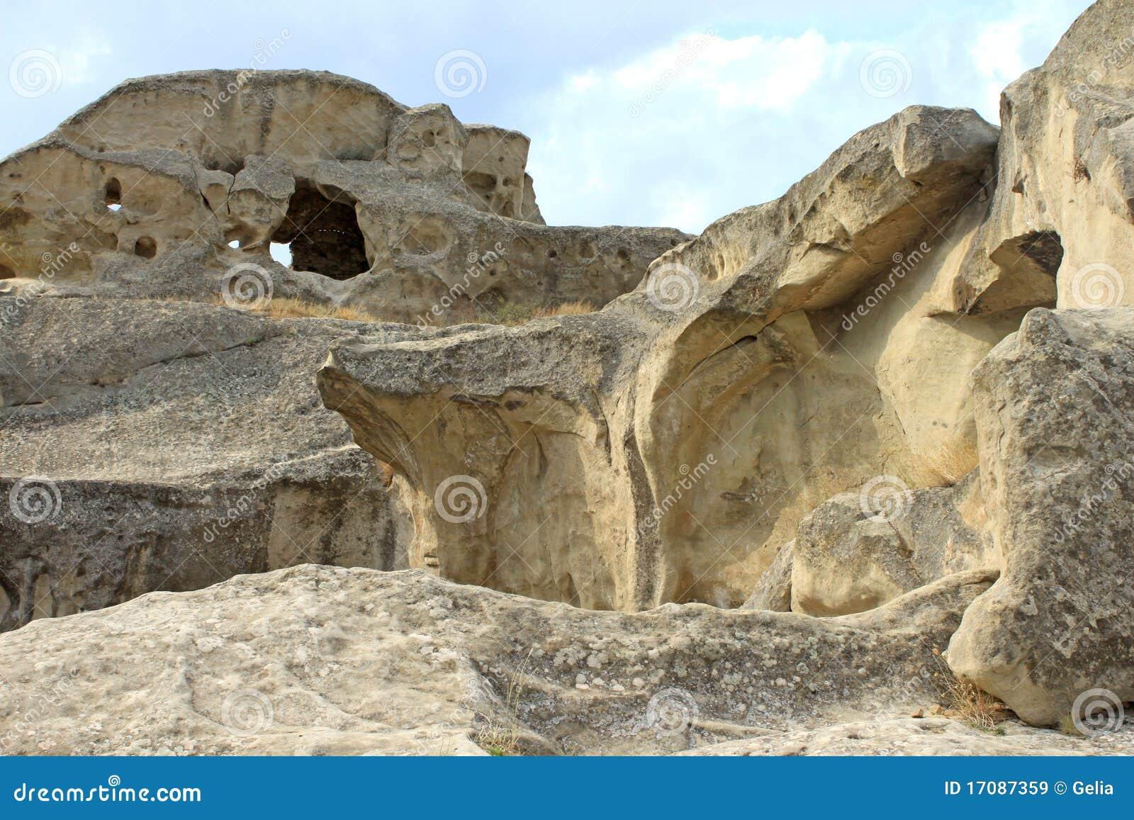 Upliscikhe города каменное