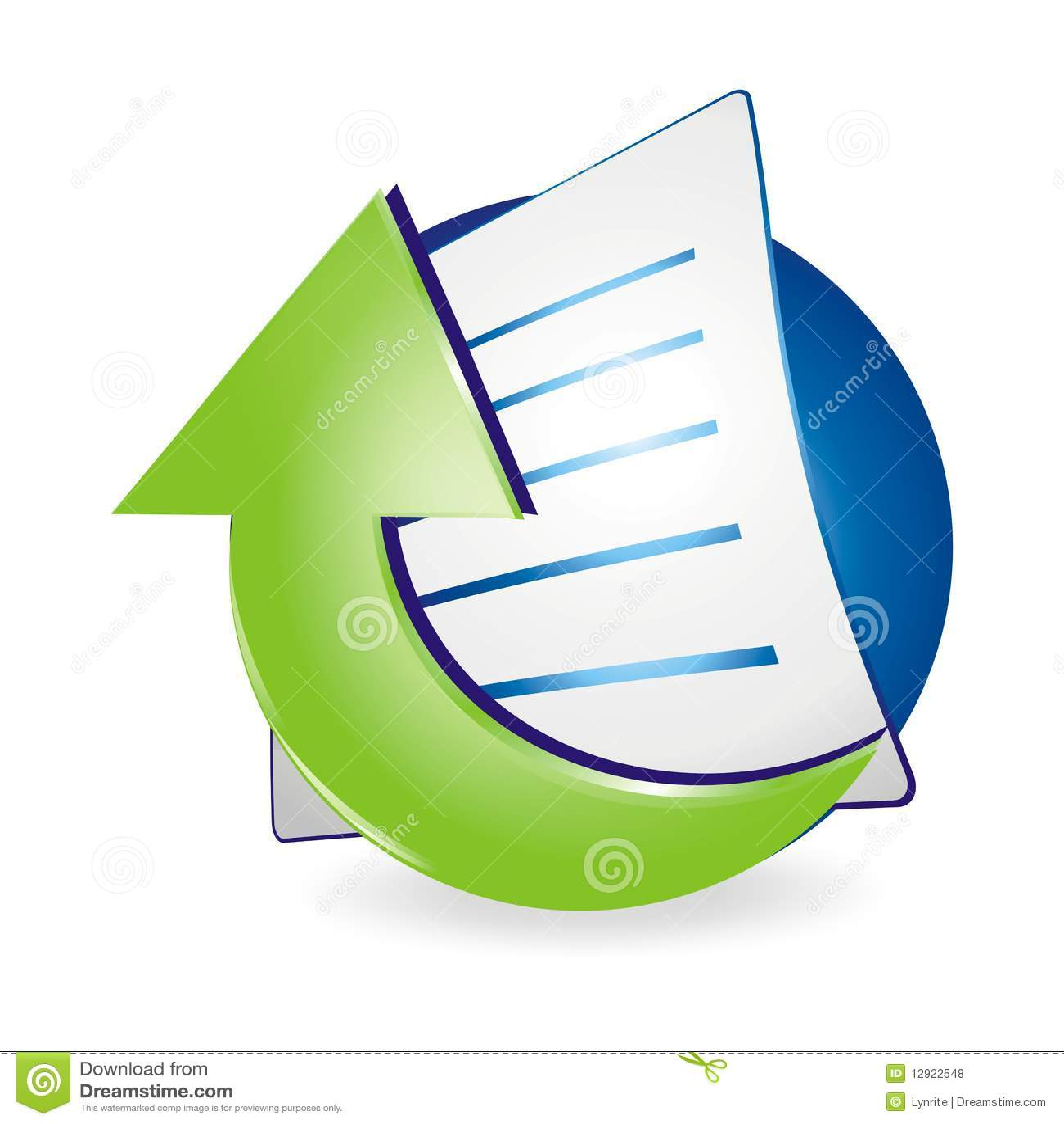 free clipart document icon - photo #45