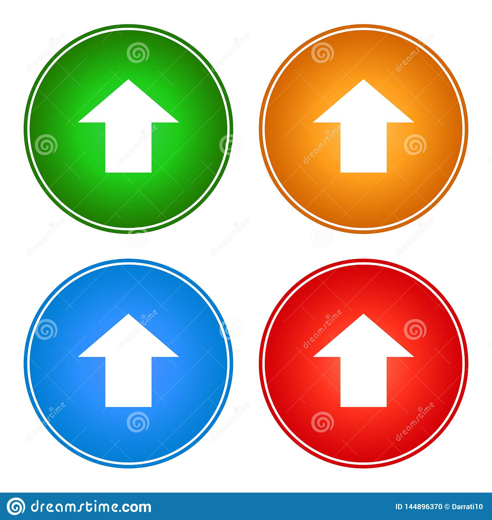 Upload icons buttons web download