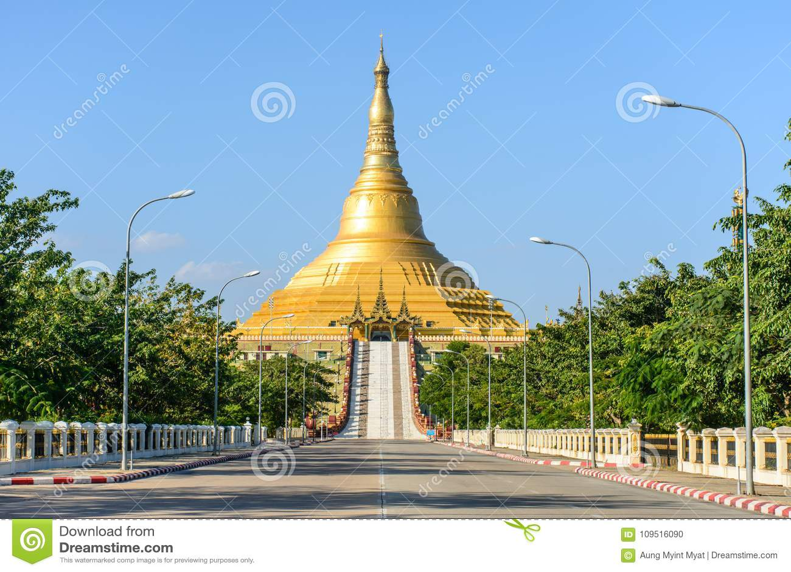 Uppatasanti pagod, Nay Pyi Taw, Myanmar