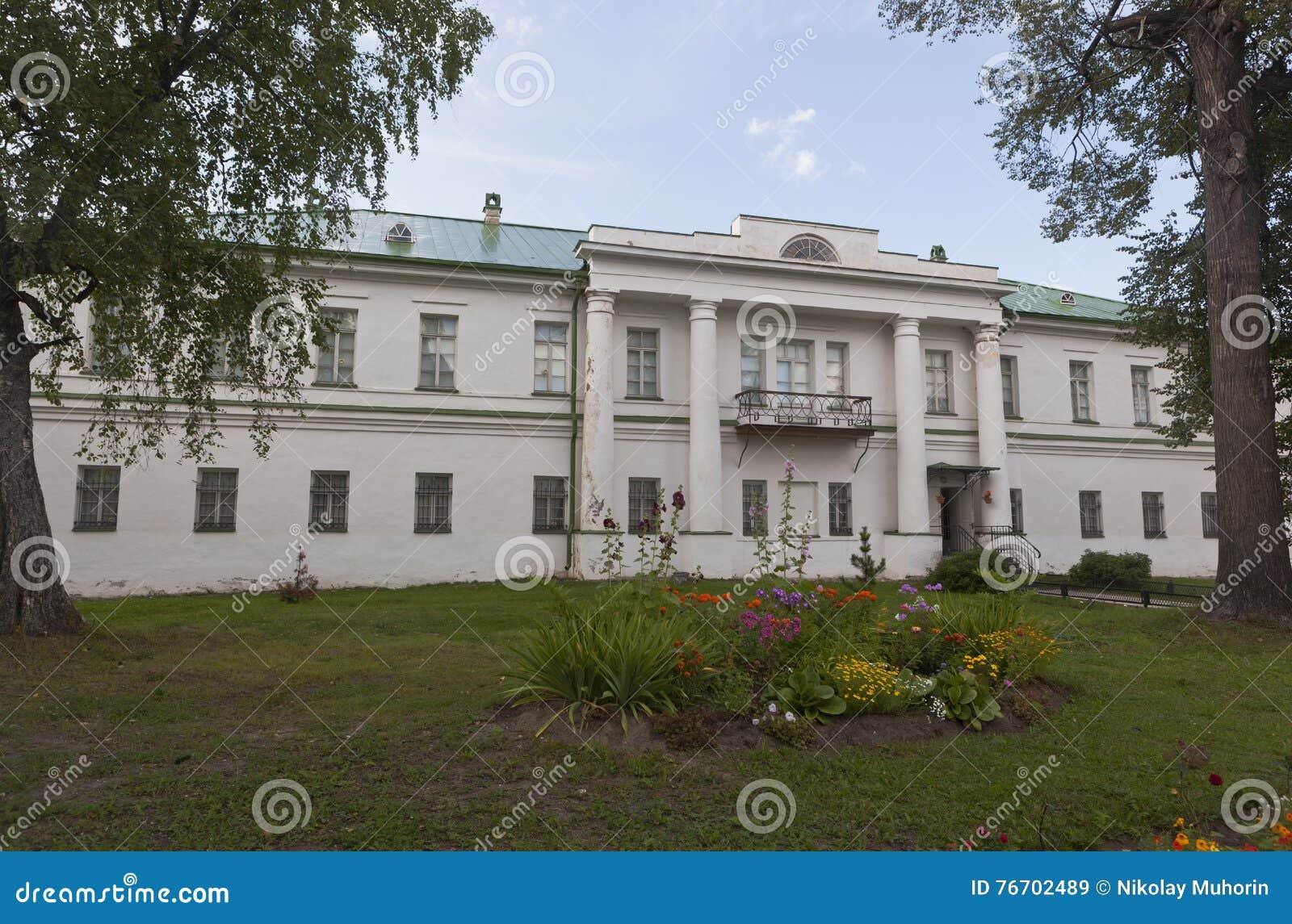UppehållArchimandriteKirillo-Belozersky kloster, Vologda region, Ryssland